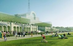 An artists impression of the terrace view of Crystal Palace. ©ZhongRong Group