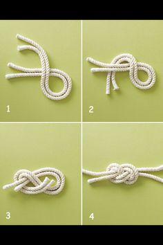 Nautical knot tutorial DIY,