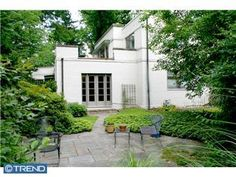 International Style home in Lower Merion, PA