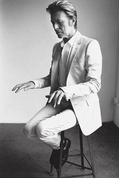 Bowie by Testino!