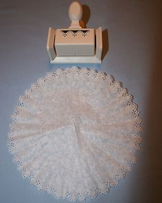 Craft: Coffee Filter Doily
