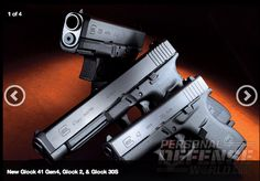 LOVE Glock? Check out this FULL #GunReview on Glock's Next-Gen G41, G30S and G42...  CLICK LINK to read full article and see VIDEO: http://www.personaldefenseworld.com/2014/04/glocks-next-gen-g41-g30s-and-g42-video/  #confidence #glock #handgun #glockG41 #glockG42 #glockG30S #guns