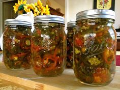 Daw The Cauldron Wizard Recipes for your Body and Soul: Cowboy Candy (Candied Jalapenos),