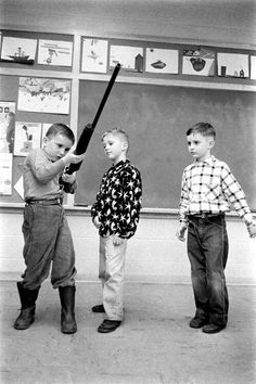 Gun safety instruction in Indiana schools, 1956