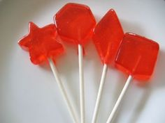 Gluten Free Homemade Lollipops