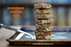 Homemade Protein Bars from Healthy Green Kitchen