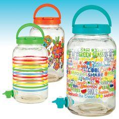 Sun tea jars #shopko