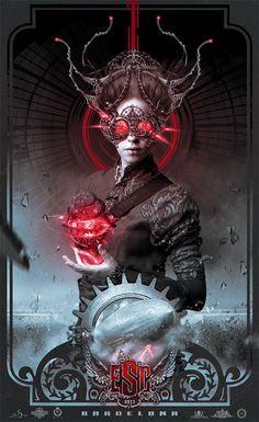 Fabulous Art by Nekro #Dark #Surreal #Steampunk