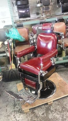 Antique Barber Chairs On Pinterest Barber Chair Epoxy