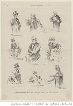Sketches from the magazine L'Univers illustré (1894) of Verdi directing the rehearsals of Falstaff.