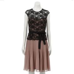 Expo Lace Pleated Ch
