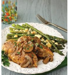 """For Recipe: CLICK on PIC and when taken to 2nd pic click again..Low-Carb Chicken Marsala..  ...Recipe by George Stella... ...For tons more Low Carb recipes visit us at """"Low Carbing Among Friends"""" on Facebook lowcarb chicken"""