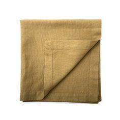 Belgian Linen & Cotton Napkins (Olive)