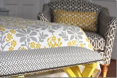 Upholstered bedroom