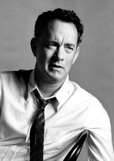 Tom Hanks - for his sense of humor and brains - because comedy isn't as funny if it isn't smart.