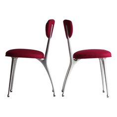 Pair of Gazelle Side Chairs for Shelby Williams