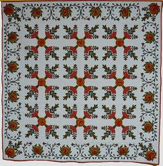 2013 Traditional Appliqué - Association of Pacific West Quilters Quilt by Dawn Fox Cooper