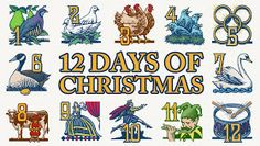 When click on page it has comments for the 12 days of Christmas.