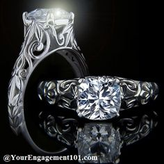 Wedding Rings and Bands vintage engagement rings, antique engagement rings, diamonds, swirl, solitair engag, engagements, ring settings, engag ring, antiques