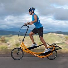ElliptiGO  Outdoor Elliptical Bicycle - this looks so cool! I want this
