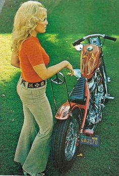 70's Style Panhead chopper