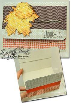 www.PattyStamps.com - Thankful Tablescape kit makes great cards too