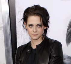 Kristen Stewarts fun and funky hairstyle