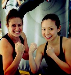 BodyCombat instructors Emily and Cindy want YOU to join their class!
