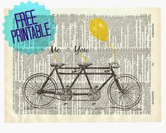 Tandem Bike---Pottery Barn Inspired!