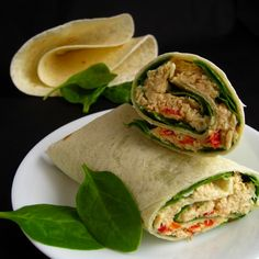 Quick and Easy Tuna Wrap
