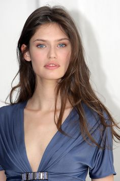 Bianca Balti, A Soft Summer in the right blue and make-up.