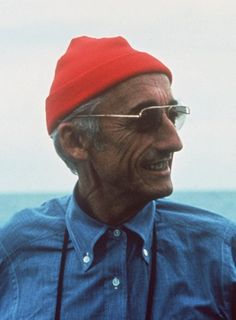 Inspiration: Jacques Cousteau.