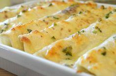 Jalapeno Sour Cream Chicken Enchiladas