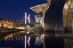 Bilbao by night