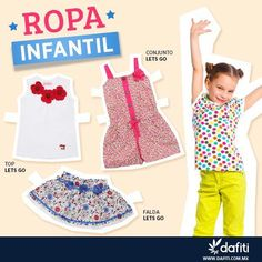 La #ropa #infantil está en #Dafiti