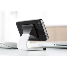 Bluelounge iPhone stand Milo white #gadget #mount #iphone $22