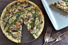 Rustic Ramp & Mushroom Quiche { Via Kitchen Tested}