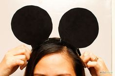 3 Ways to Make Mickey Mouse Ears - wikiHow