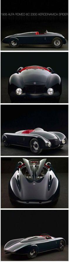 1935 Alfa Romeo 6C 2300 Aerodinamica Spider //