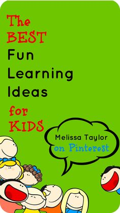 pinner Melissa Taylor curates the best pins about kids, learning, and books on Pinterest.