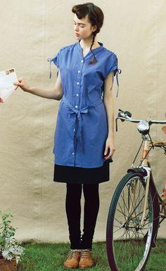 Felissimo | Board of Petit Dot cute tunic shirts |. Syrup