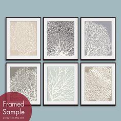 coral prints