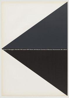 Rocco Borella poster by A.G. Fronzoni (1979).