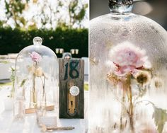 Make an Enchanted flower centerpiece. | 33 Subtle Ways To Add Your Love Of Disney To Your Wedding