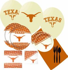 NCAA Texas Longhorns Large Party Pack