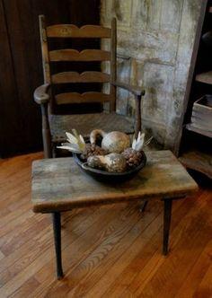 Small Primitive Table