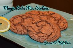 Magic Cake Mix Cookies