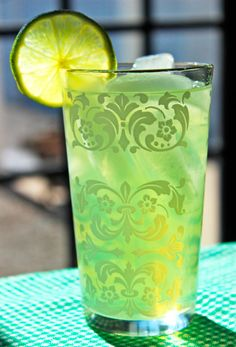 The Perfect Green Drink for St. Patrick's Day! The Last Word Cocktail