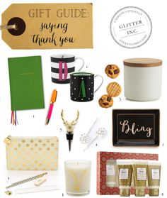 gift guide thank you