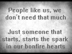 ▶ James Blunt - Bonfire Heart (Lyrics) - YouTube